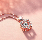 S925 Love Knot Necklace