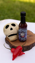 Load image into Gallery viewer, Indigo Fire Blueberry Hot Sauce