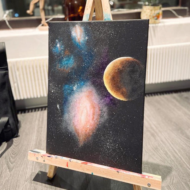 PE 26.3. GALAXIES Paints and Wine klo 17-19