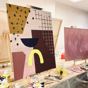 LA 24.10. XL Paints and Wine klo 15-18