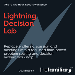 Lightning Decision Lab <br> (Team of 4–10, Remote Delivery)