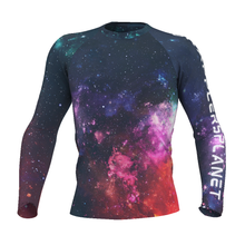 Load image into Gallery viewer, Men's GrapplersPlanet Space-1 Rash Guard