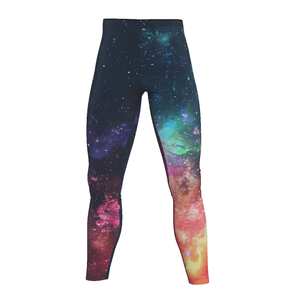 Men's GrapplersPlanet Space Leggings