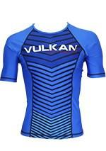 Load image into Gallery viewer, COMP RASHGUARD SHORT/SLEEVE BLUE