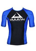 COMPETITION RASHGUARD SHORT/SLEEVE BLUE