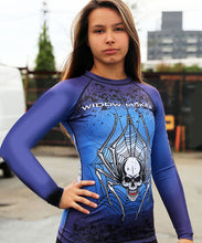 Load image into Gallery viewer, The Widow Maker Rash Guard