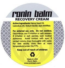 Load image into Gallery viewer, RONIN BALM RECOVERY CREAM