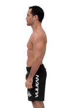 Load image into Gallery viewer, COMBAT FIGHT SHORTS BLACK/GRAY