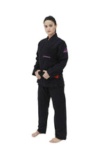 Load image into Gallery viewer, WOMEN PRO EVOLUTION JIU JITSU GI (BLACK)