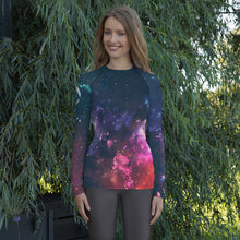 Load image into Gallery viewer, Women's GrapplersPlanet Space-1 Rash Guard