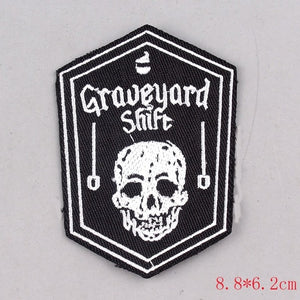 Assorted Gi/Battle Jacket Patches (Iron On)