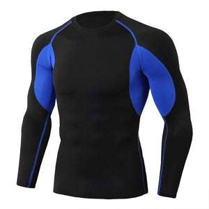 MMA Long Sleeve Compression Training T-Shirt