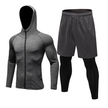 Load image into Gallery viewer, Men Gym Compression Set