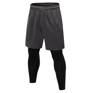 Men Gym Compression Set