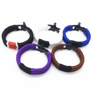 Adjustable BJJ Belt Color Bracelet