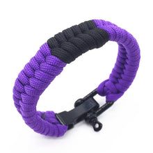 Load image into Gallery viewer, Adjustable BJJ Belt Color Bracelet