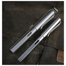 Load image into Gallery viewer, Tactical Titanium Fountain Pen
