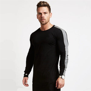 Long Sleeve Cotton Runnning T-Shirt