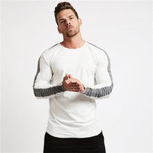 Load image into Gallery viewer, Long Sleeve Cotton Runnning T-Shirt