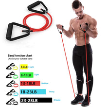 Load image into Gallery viewer, Sports Fitness Resistance Bands