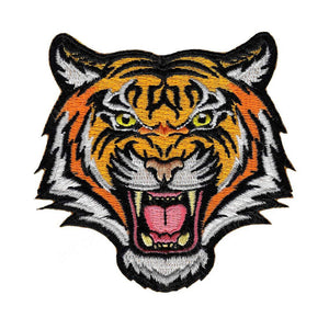 Tiger Bear Embroidery Patch