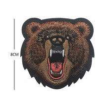 Load image into Gallery viewer, Tiger Bear Embroidery Patch