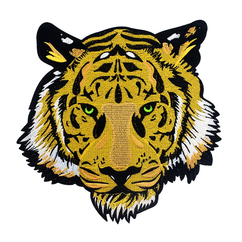 Big Tiger Embroidery Patch for Clothing