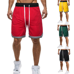 Striped Basketball Shorts