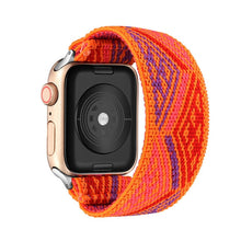 Load image into Gallery viewer, Elastic Watch Band for Apple Watch 5 6 4