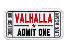 Load image into Gallery viewer, Ticket to Valhalla Hook & Loop Patch