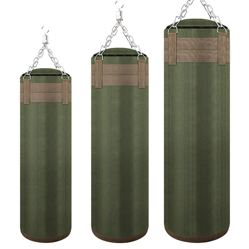 Green Canvas Heavy Bag 60cm/70cm/80cm/90cm/100cm/120cm