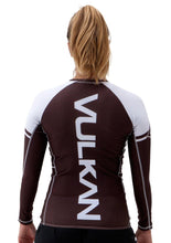 Load image into Gallery viewer, POWER COMP RASHGUARD LONG/SLEEVE BROWN