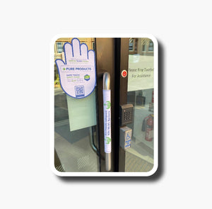DOOR PUSH & PULL PACK - Safe Touch Safety Guards