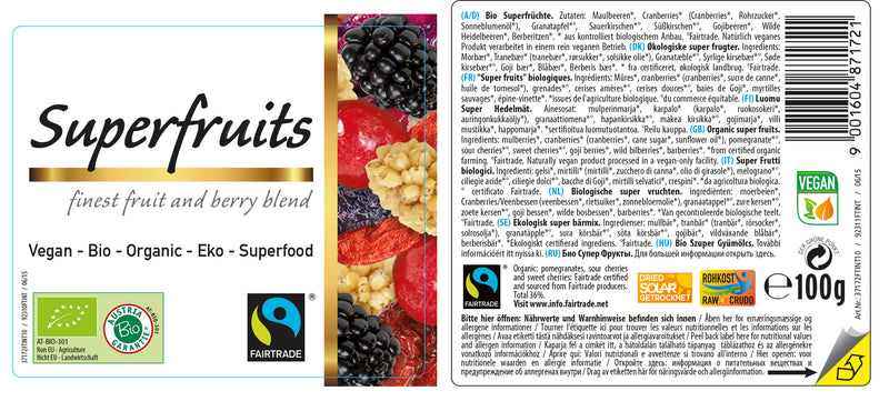 Organic FAIRTRADE Superfruits