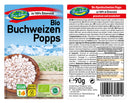 Buckwheat puffs / popped organic