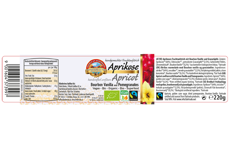All about Organic Fairtrade Apricots