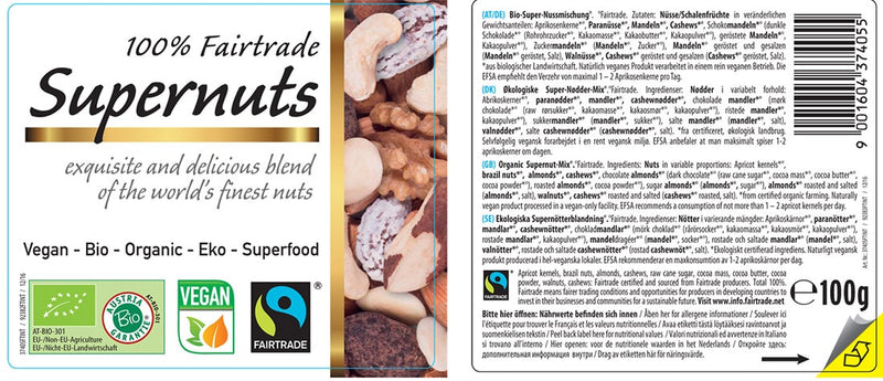 Organic FAIRTRADE Supernuts