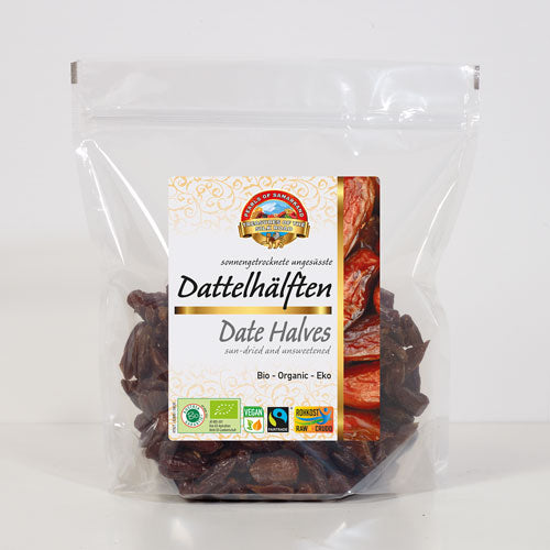 Organic Date Halves FAIRTRADE