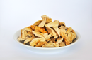 Apple slices dried soft with peel organic FAIRTRADE