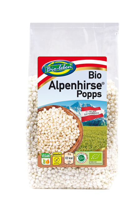 Millet puffs / popped AUSTRIA organic