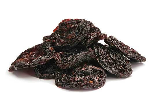 Organic dried prunes - whole