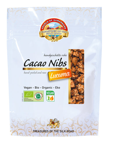 cacao nibs raw with Lucuma Organic