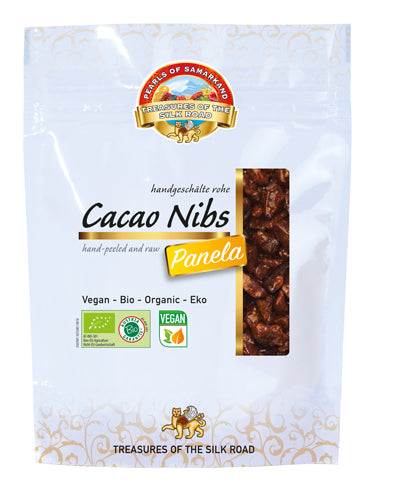 cacao nibs raw with panela Organic