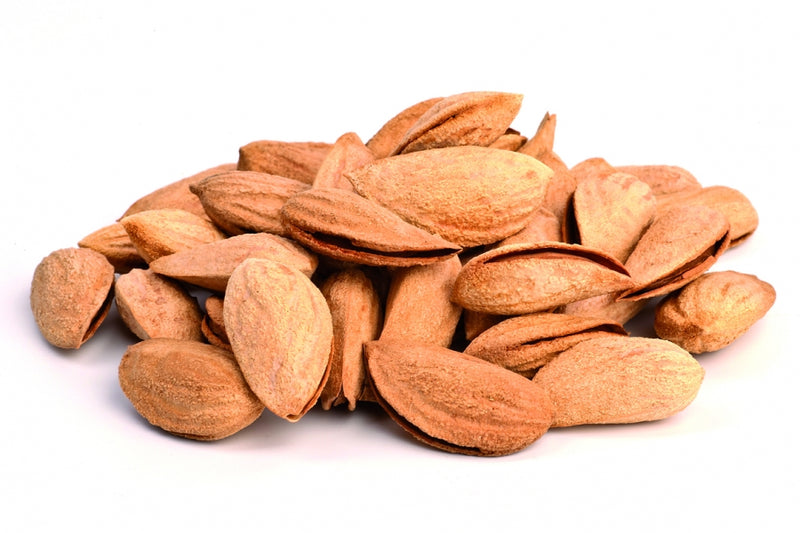 Organic Almonds with paper shell roasted FAIRTRADE Uzbek