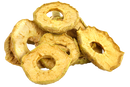 Organic soft-dried apple rings with skin Fairtrade Uzbekistan