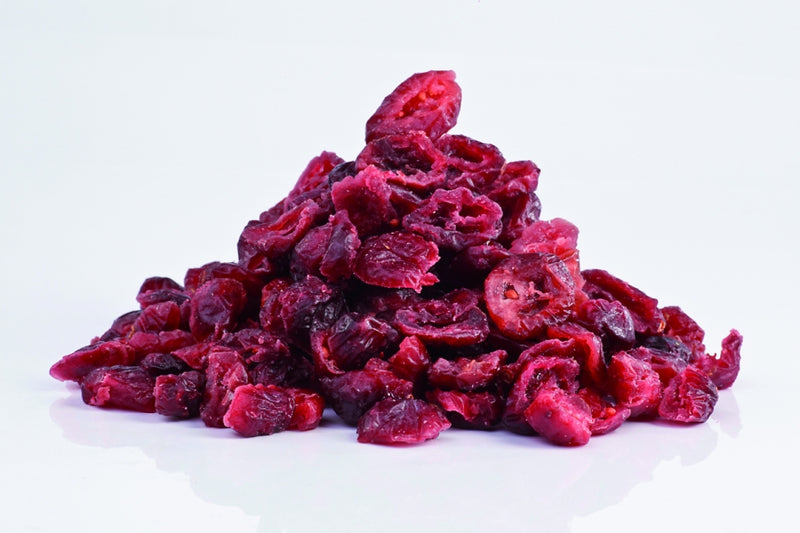 Organic Cranberries sweetened with cane sugar