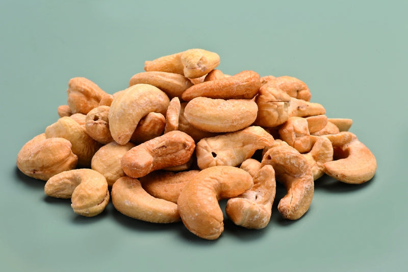 Organic Cashews roasted salted
