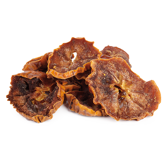 Organic sun-dried persimmon slices from Uzbekistan