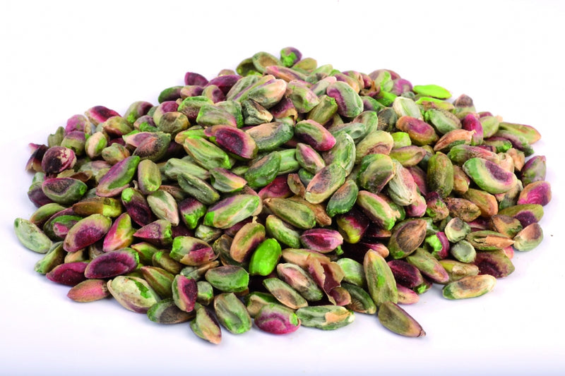 Wild Organic Pistachios shelled with skin
