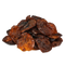 Organic sun-dried wild mountain Kuraga® apricots filled with peeled apricot kernels, from Samarkand Uzbekistan